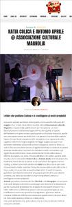 Katia Colica e Antonio Aprile Associazione Culturale Magnolia SOund36 Magazine di Musica e Cultura Musicale